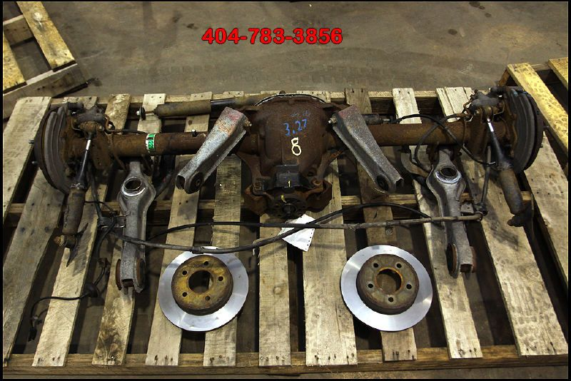 94 95 1994 1995 Ford Mustang 8 8 Disc Brake Rear Axle End