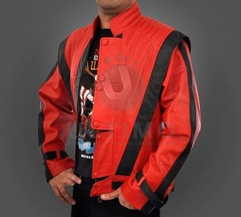 Michael Jackson Thriller Leather Jacket BNWT All Sizes