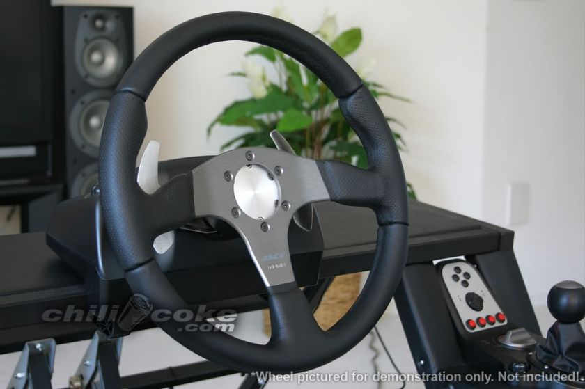 Custom Aluminum Steering Wheel Adapter for Logitech G27