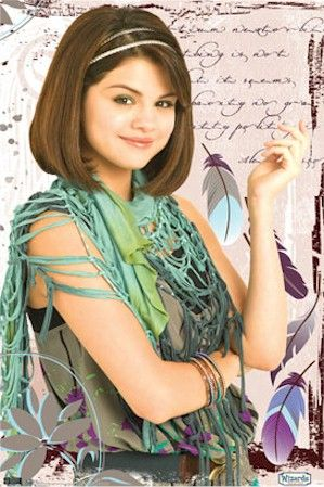 wizards of waverly place alex feather poster