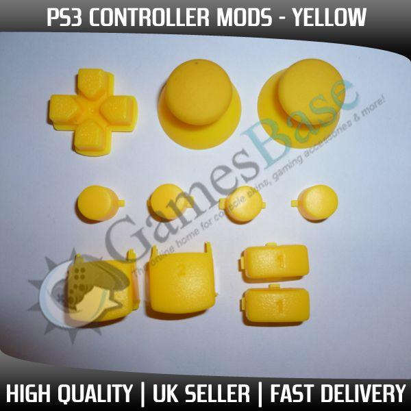 PS3 Controller Mod Kit   DPad, Triggers, Buttons, Thumbsticks   8