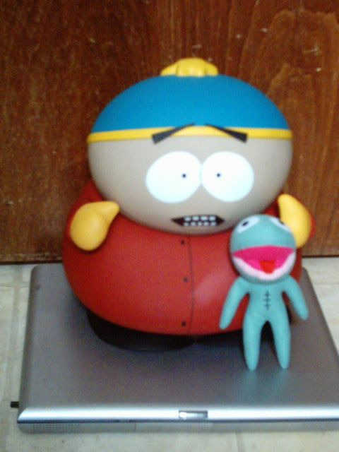 RARE SOUTH PARK 11 DELUXE CARTMAN WITH CLYDE PLUSH FROG NIB TOY DOLL