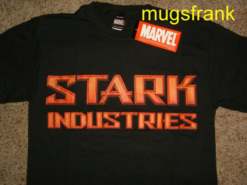 Iron Man 2 Stark Industries Marvel Comics Movie T Shirt